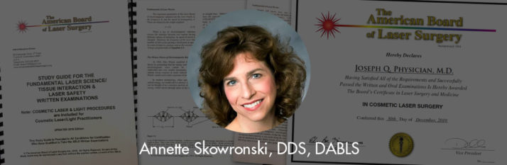 Dr. Annette Skowronski Awarded the Diplomate status by the ABLS