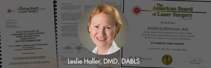 Dr. Leslie Haller Awarded the Diplomate status by the ABLS