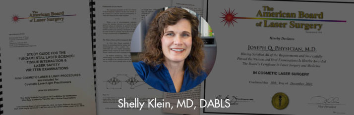 Dr. Shelly Klein Awarded the Diplomate status by the ABLS
