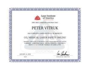 LIA CO2 Laser Safety Training Quiz
