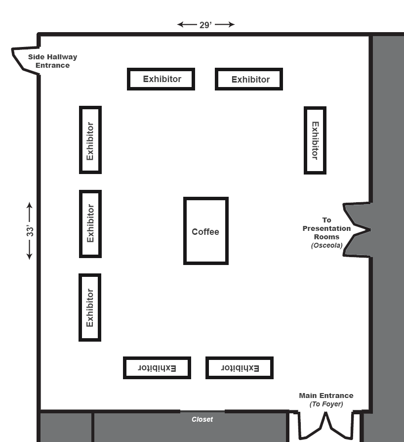 exhibition room layout