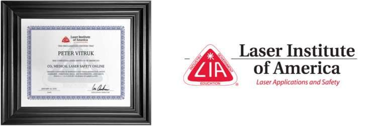 lia online training laser safety