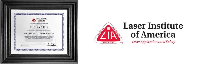lia online training laser safety