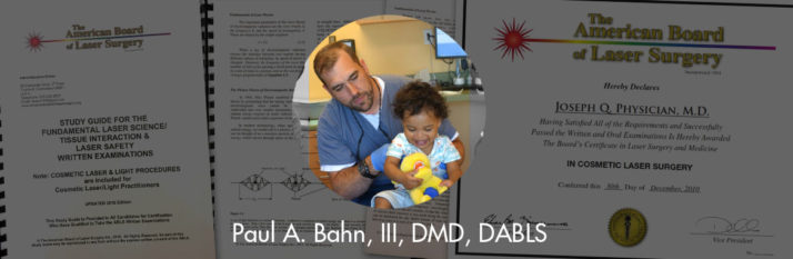 Dr. Paul A. Bahn, III, Awarded the Diplomate status by the ABLS