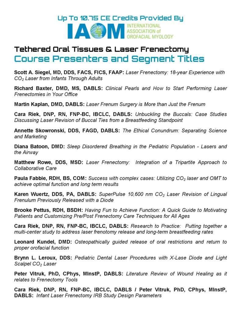 TOTS Symposium IAOM Page 2