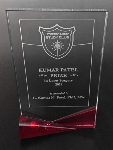 Kumar Patel Prize in Laser Surgery - ALSC Annual Award