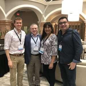 Richard Baxter, Scott Siegel, Diana Batoon and Manuel Castillo