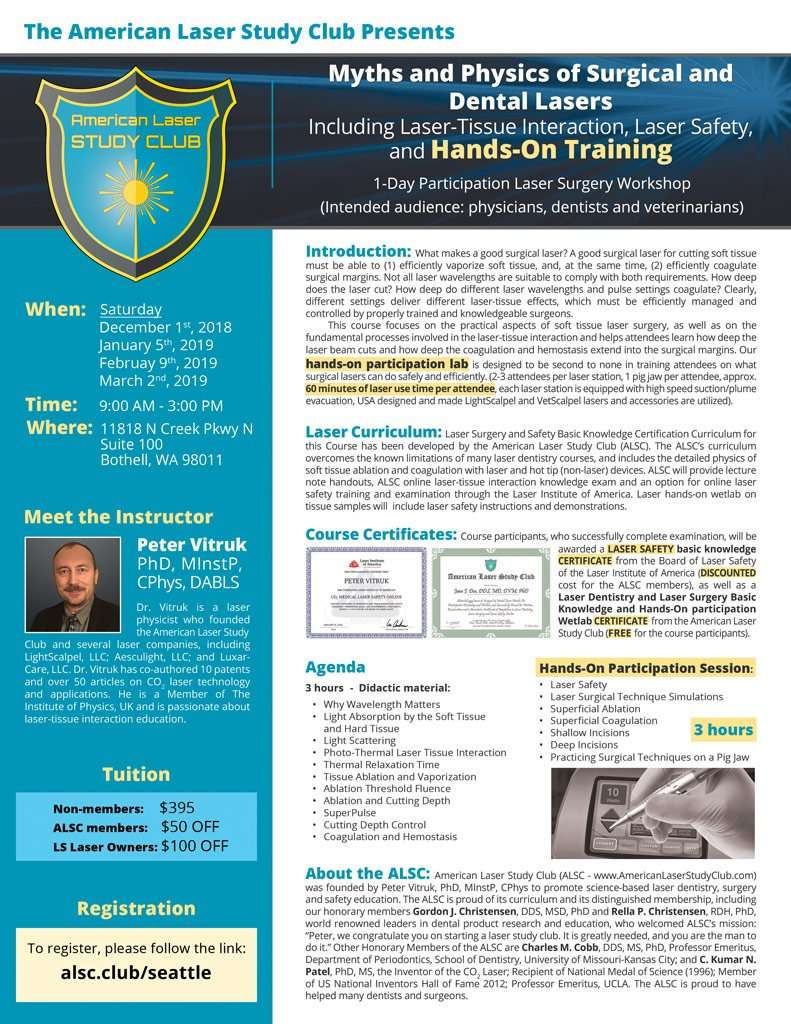 ALSC Hands On Laser Surgery Training