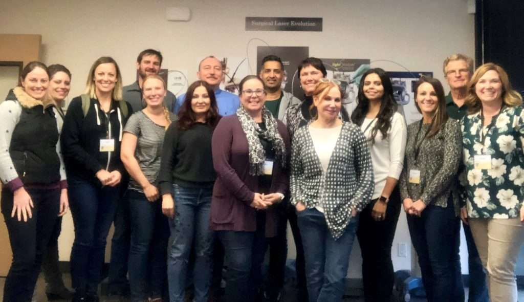 Infant Frenectomy Course Attendees