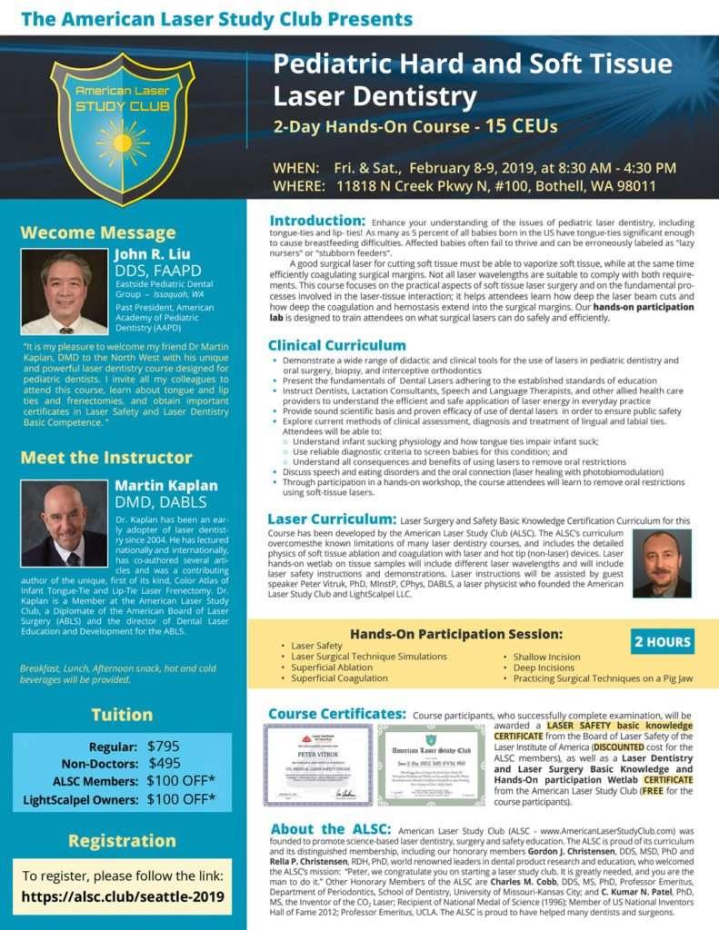 Pediatric Hard and Soft Tissue Laser Dentistry