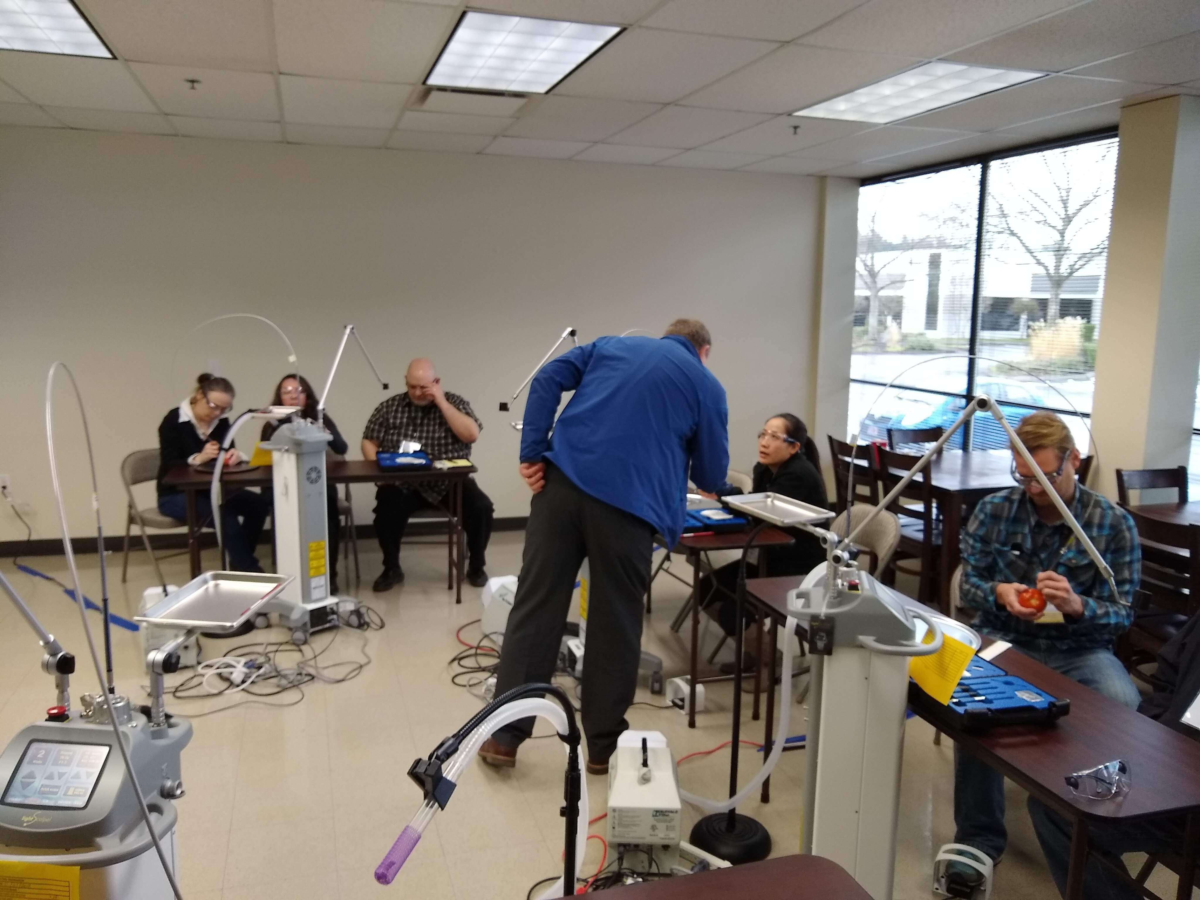 Laser Surgery Training January 2019 - Hands-On