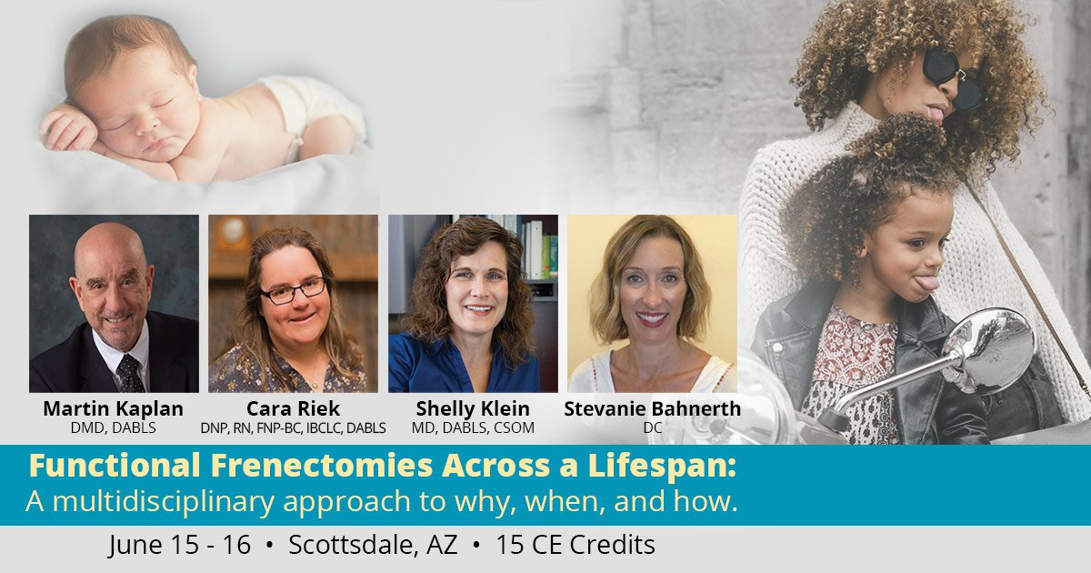 functional frenectomy course in arizona 2019