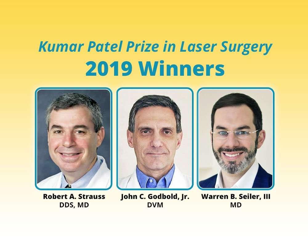 kumar patel 2019 prize winners