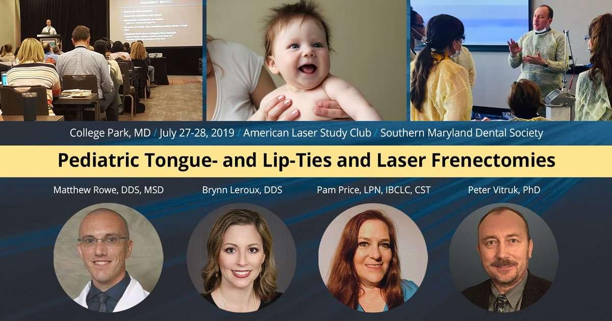 Laser Pediatirc IBCLC - Jul 27-28 2019