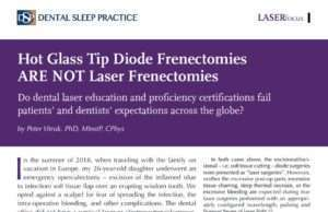 diode frenectomy article
