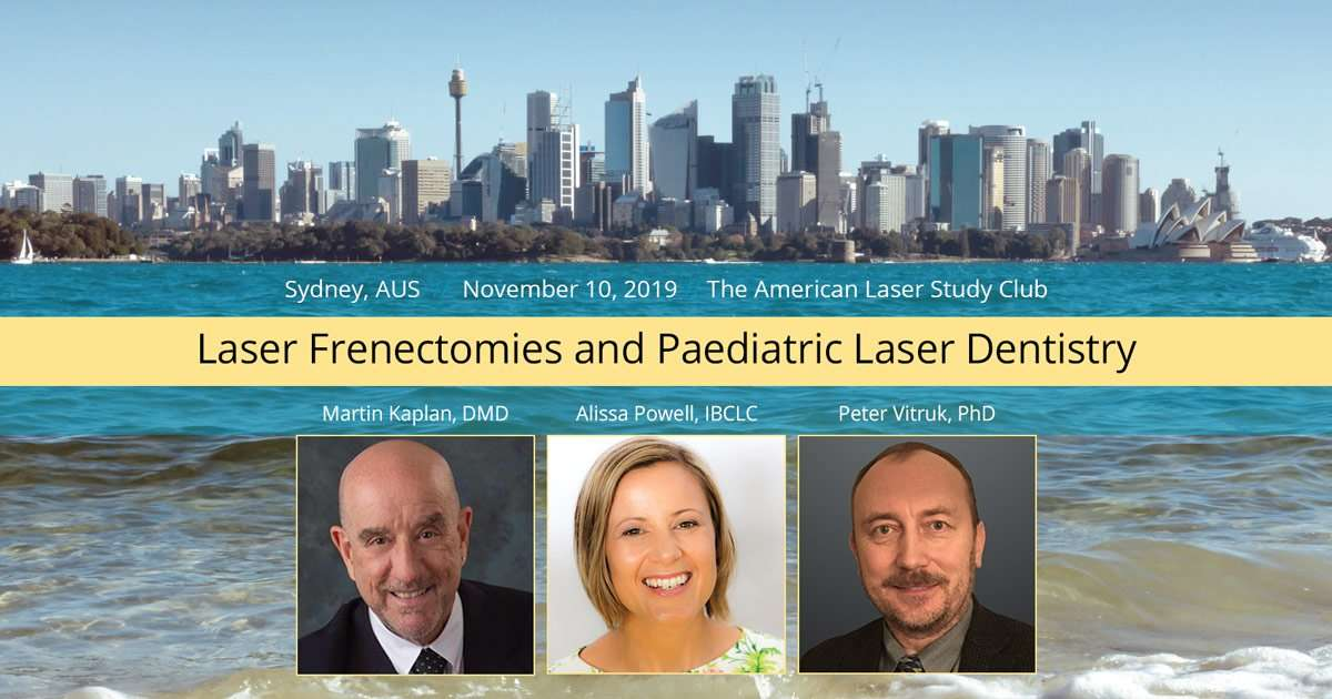 Sydney AUS Laser Frenectomy Course