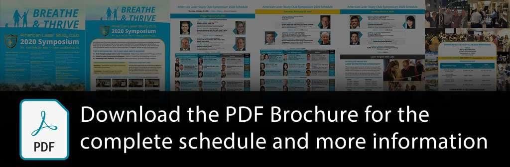 Download the 2020 Symposium Brochure