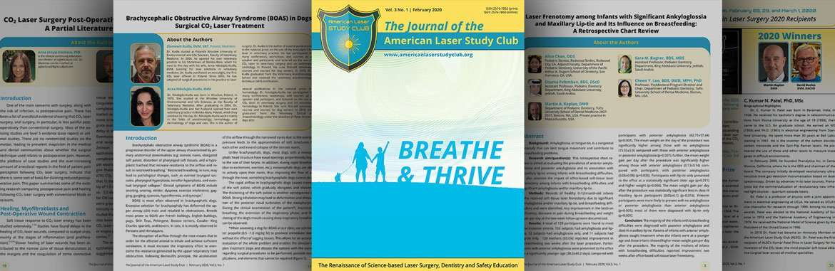 Journal of the American Laser Study Club 2020