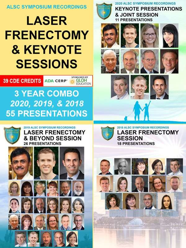 Laser Frenectomy Combo Videos 2018-2020
