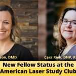 Announcing the New Status of Fellow at the American Laser Study Club