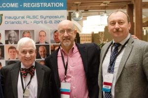 Dr. Patel with Dr. Kaplan and Dr. Vitruk at the 2018 Symposium