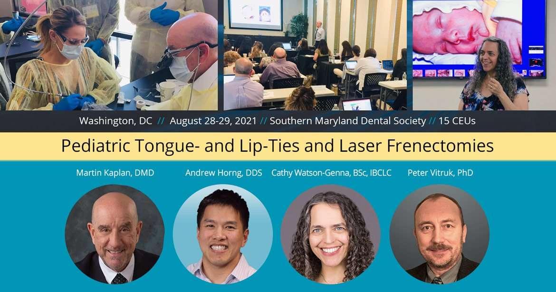 Pediatric Tongue- and Lip-Ties and Laser Frenectomies